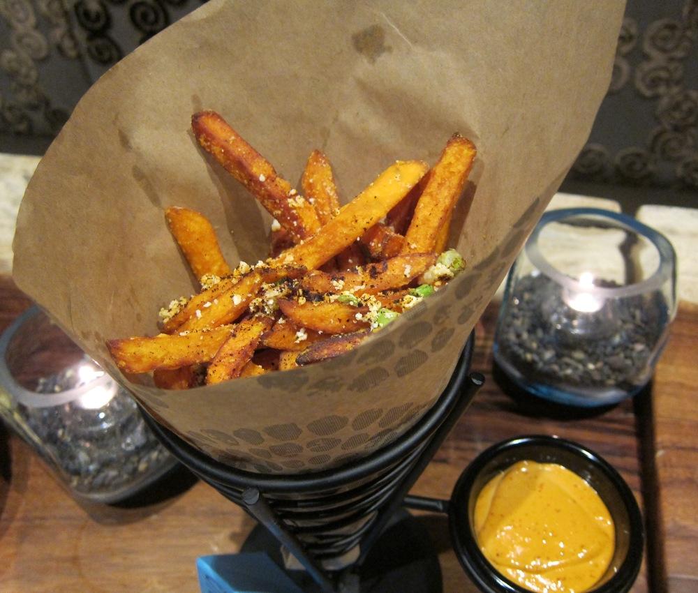 Sweet potato fries (Photo by Lauren Lloyd)
