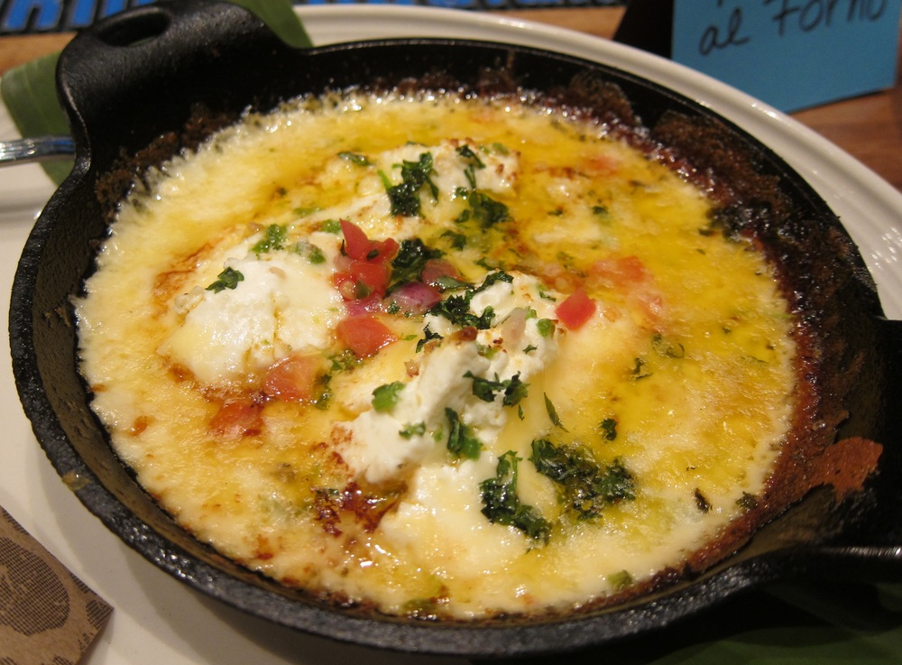 Queso al forno  ( Photo by Lauren Lloyd)