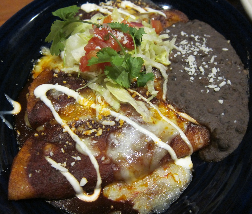 Lazy enchiladas  ( Photo by Lauren Lloyd)