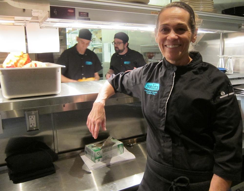 Solita Executive Chef and partner Deborah Schneider  ( Photo by Lauren Lloyd)