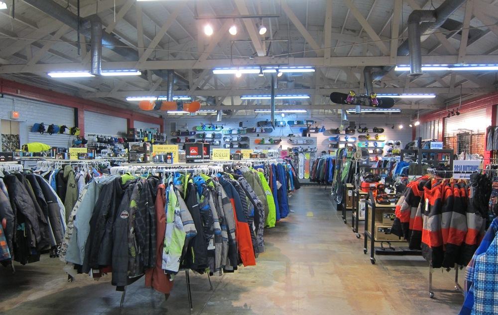 Jack's Snowboard Shop (Photo by Lauren Lloyd)