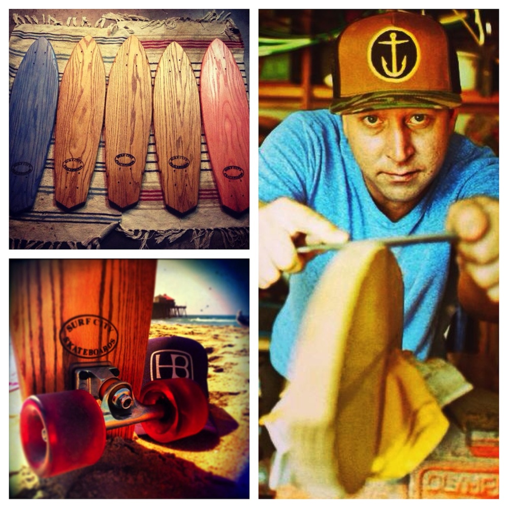 (Photos courtesy of Surf City Skateboards)