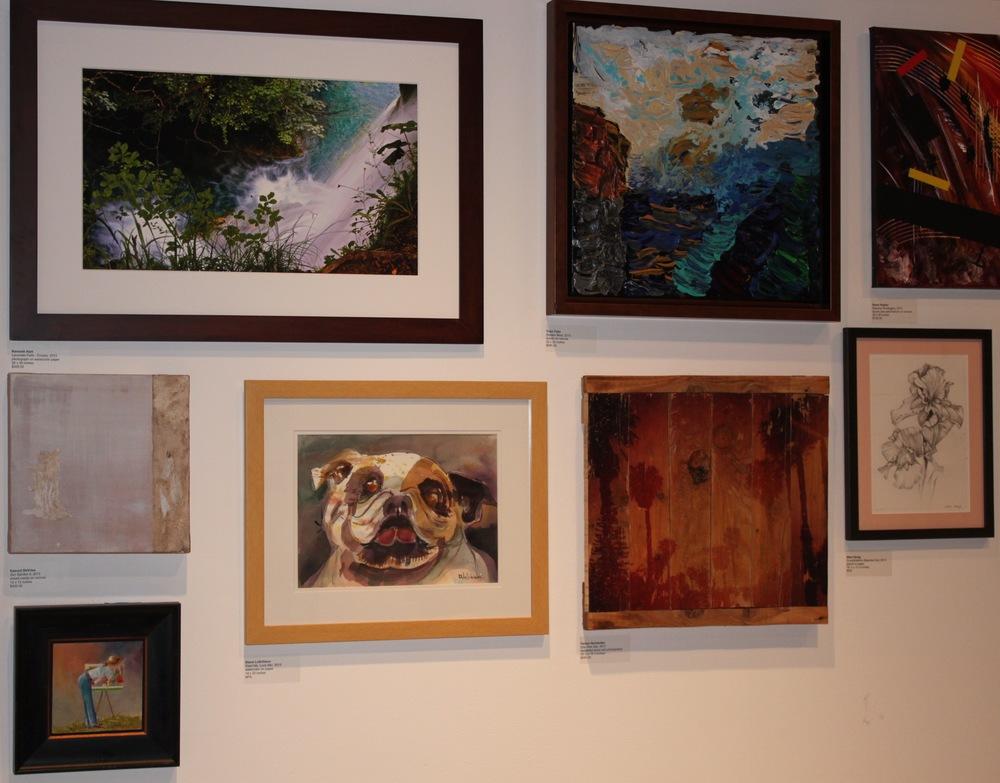 "A sneak peek at ""Centered on the Center""  (Photocourtesy of Huntington Beach Art Center)"