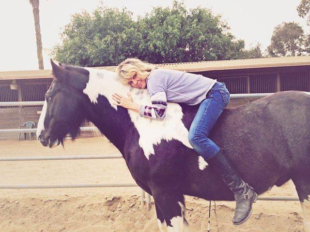 Heather Kraty, aka Island Cowgirl  (Photo courtesy of Island Cowgirl)