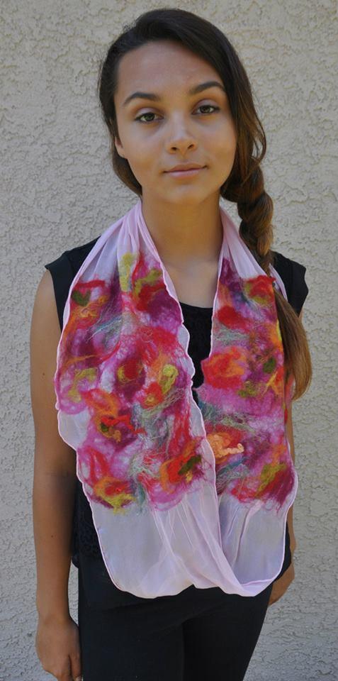 Maria-Elena Kaser (Photo courtesy of Fatima's Wild Rose Creations)