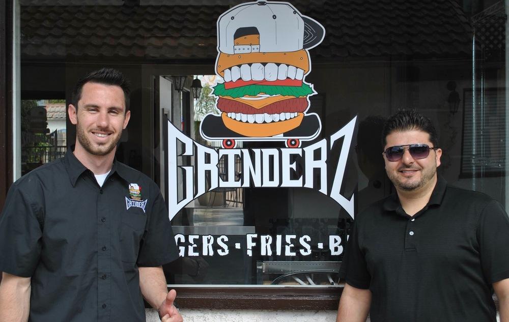 From Left: Grinderz Founders Ryan Vanderweel and Dan Elbard (Photo courtesy of Grinderz)
