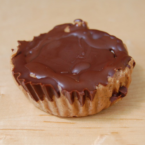 For the health-conscious Reese's Peanut Butter Cup lover: Almond & Peanut Butter Cups by Lily's Lean Machines, $4 to $7.75. View in our Made In HB Marketplace .