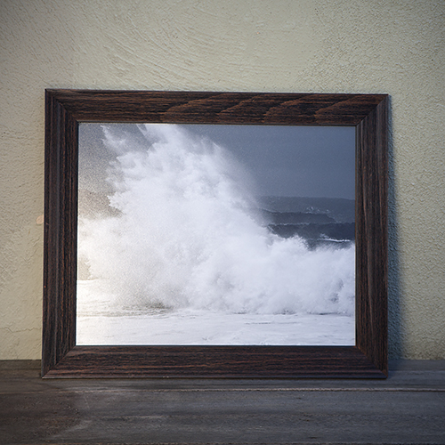 """For the ocean-loving mom: """"The Wedge"""" framed print by Michael Latham, $150. View in our Made In HB Marketplace ."""