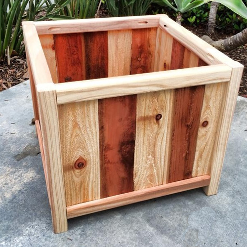 For the green thumb: Redwood Cube Planter Box by Jerm Creationz, $65.  View in our Made In HB Marketplace .