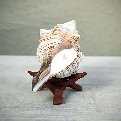 Gift Mom the scents of the islands: Seashell Candle by Surf City Temptations, $6 to $65. View in our Made In HB Marketplace .