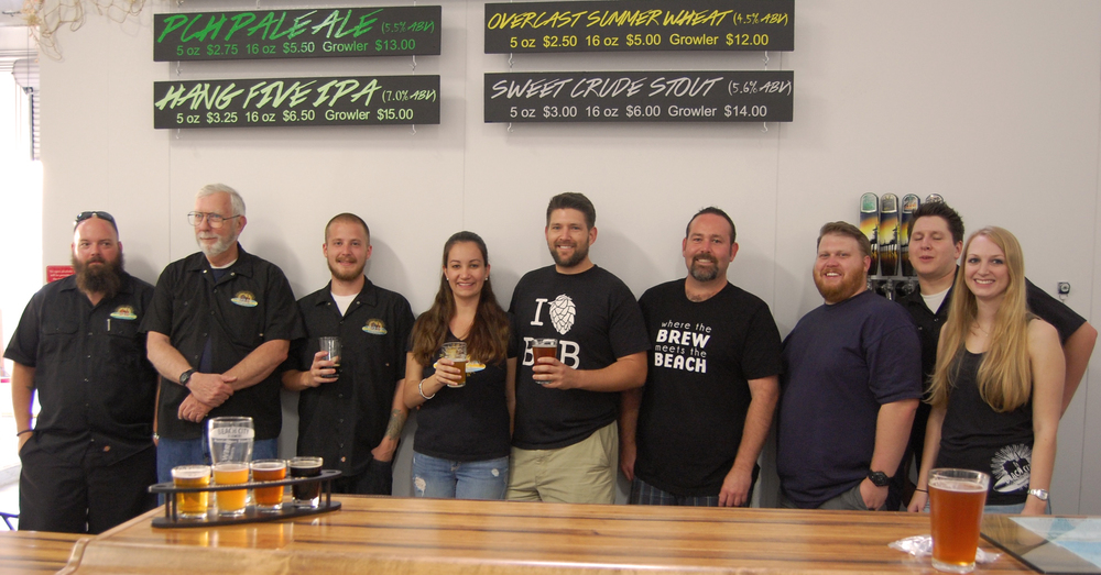 The Beach City Brewery Crew (Photo by Lauren Lloyd)