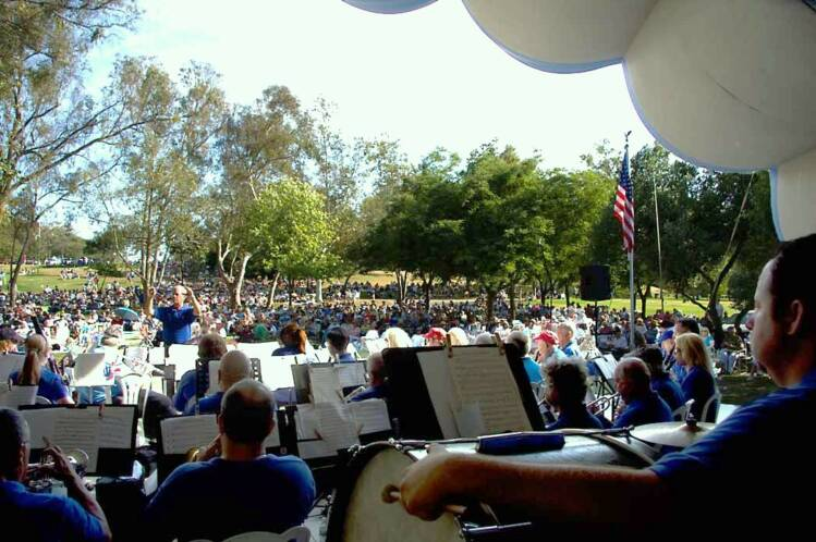 Huntington Beach Concert Band Summer Series 2014  (Photo by Al Gerk)