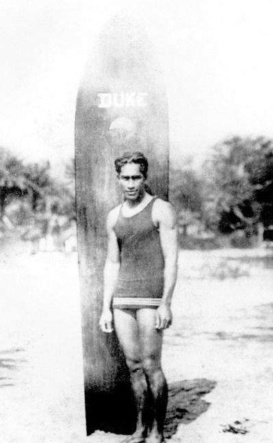 Duke Kahanamoku, 1925 (Photo courtesy of Visit Huntington Beach)