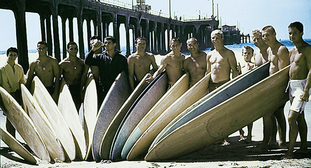 1955 HB Pier Club  (Photo courtesy of Surfing Walk of Fame)