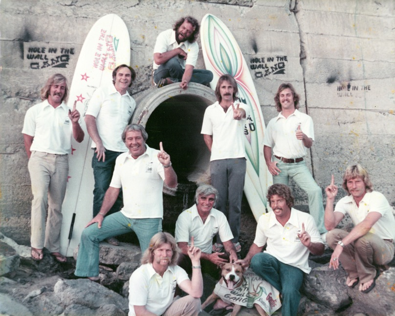 1970 Hole In The Wall Gang  (Photo courtesy of Surfing Walk of Fame)