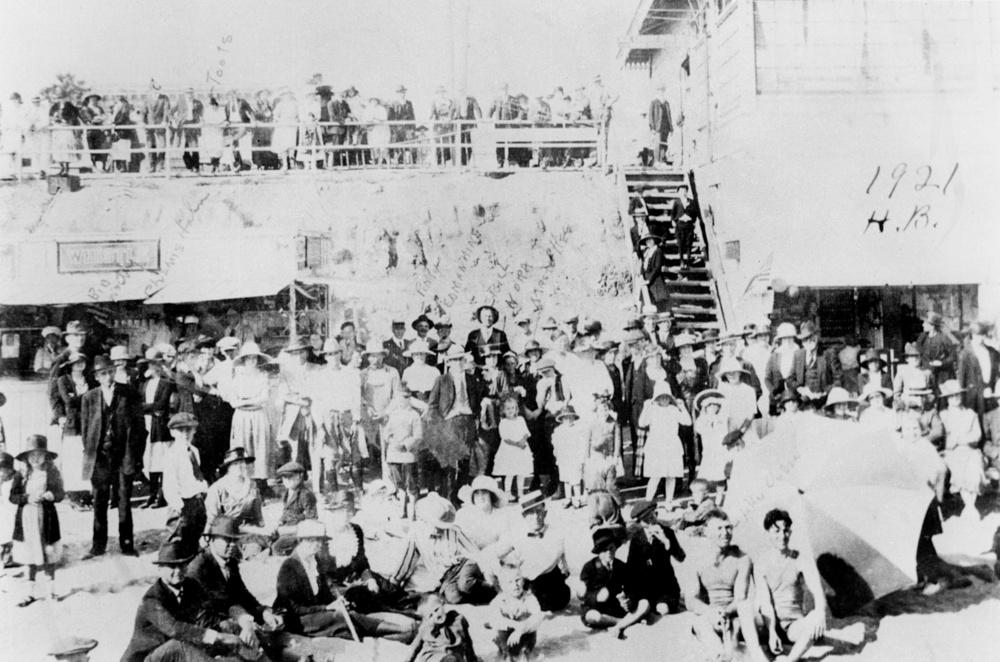 1921 (Photo courtesy ofVisit Huntington Beach)