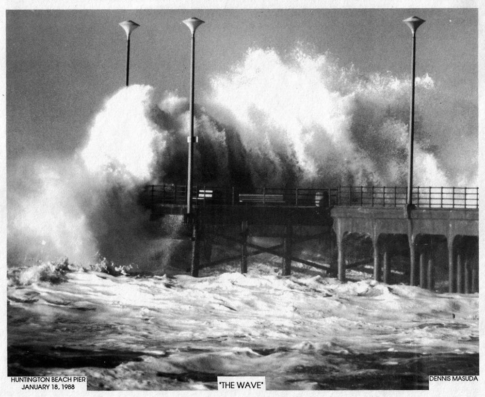 January 18, 1988 (Photo courtesy ofVisit Huntington Beach)
