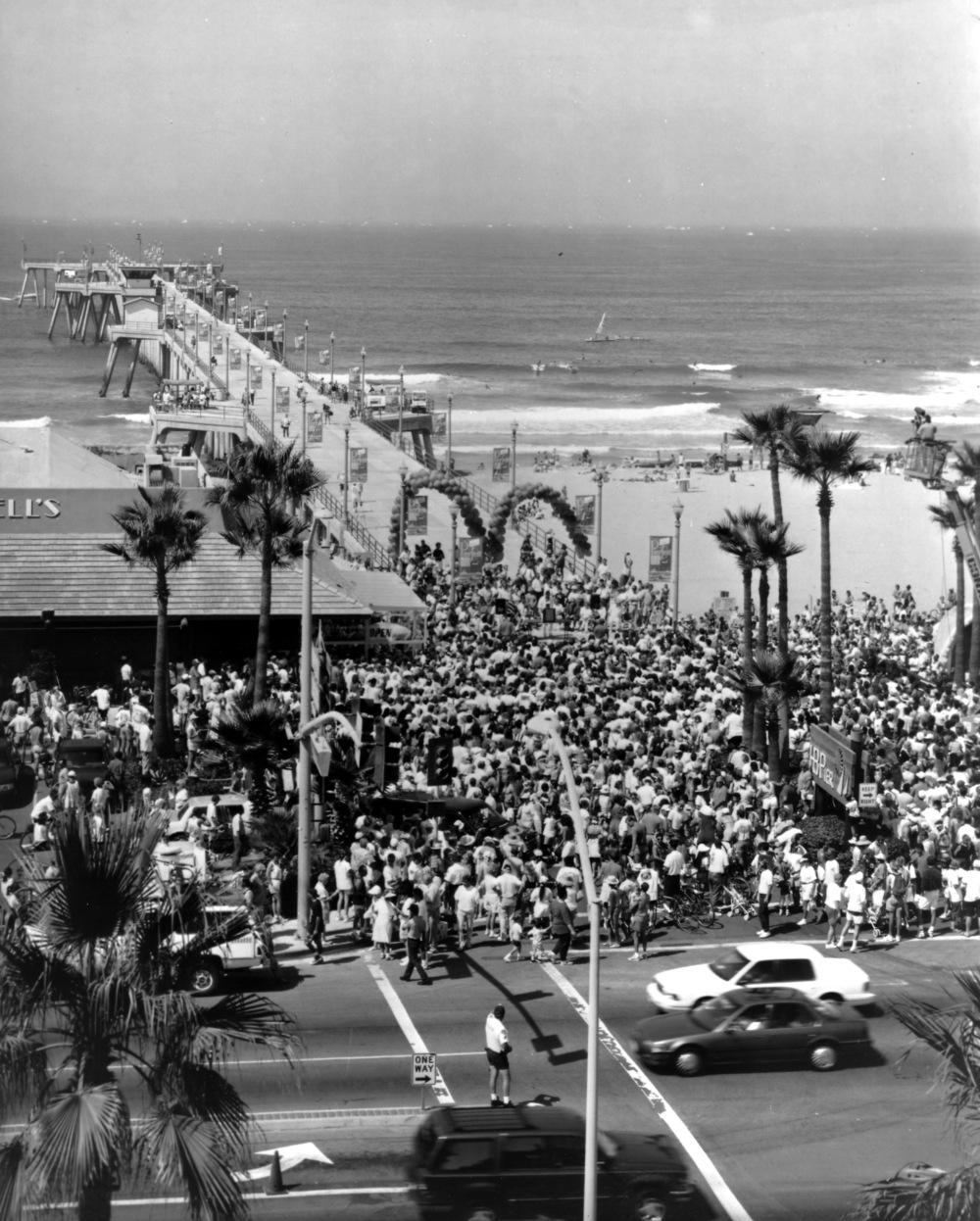 Huntington Beach Pier Celebration  (Photo courtesy ofVisit Huntington Beach)