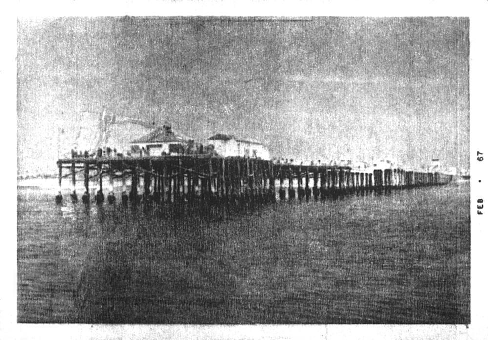 February 1967  (Photo courtesy ofVisit Huntington Beach)