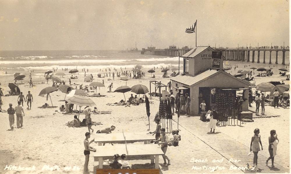 Fourth of July, 1936  (Photo courtesy of Visit Huntington Beach)