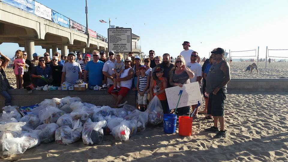 Lucky Day Beach Cleanup (Photo courtesy of Trip Day)