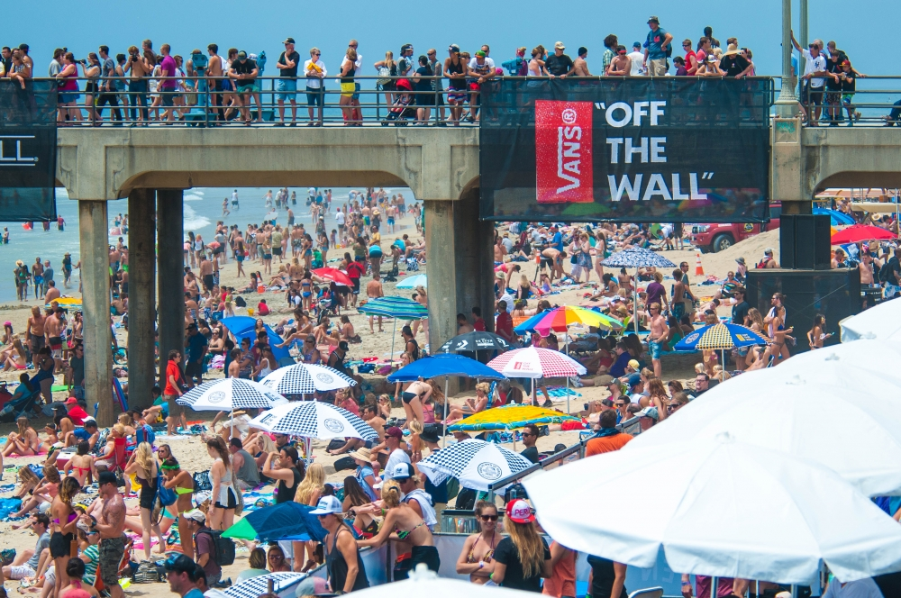 2014 Vans US Open of Surfing, Day 1 (Photo byBrandon Means)