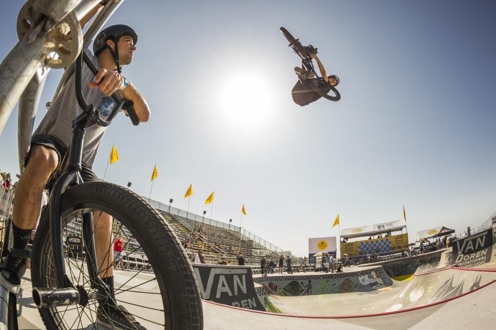 Van Doren Invitational BMX Practice, Kris Fox (Photo byJustin Kosman)