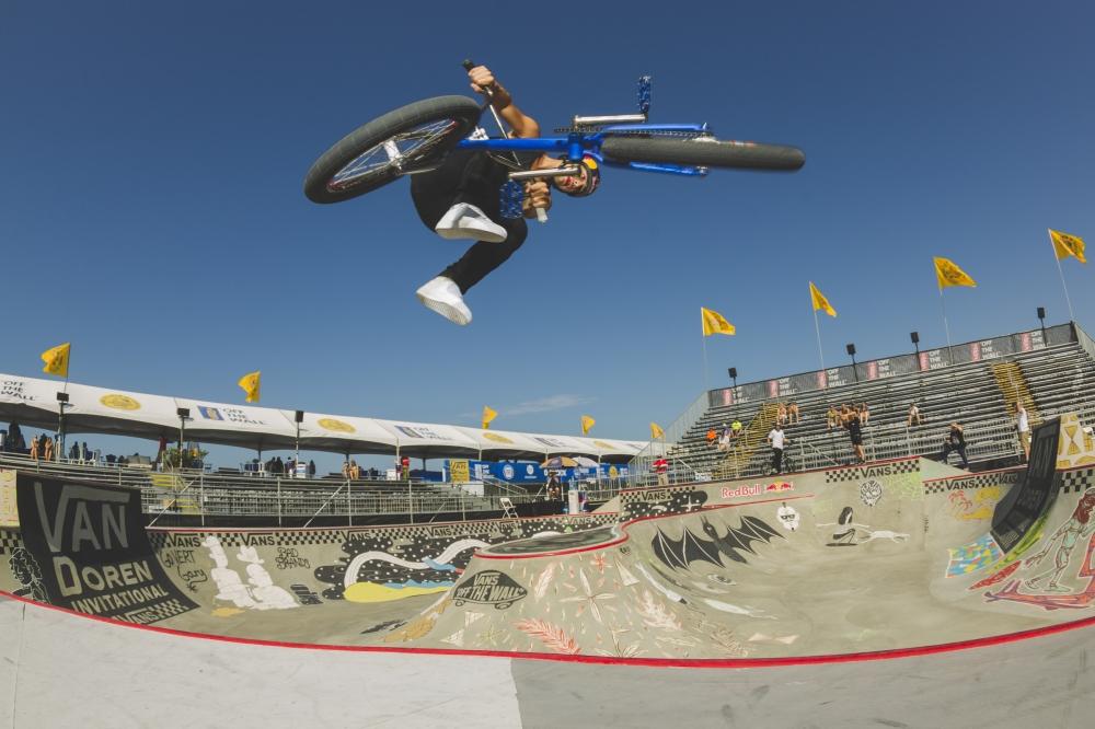 Van Doren Invitational BMX Practice, Dan Sandoval  (Photo byJustin Kosman)