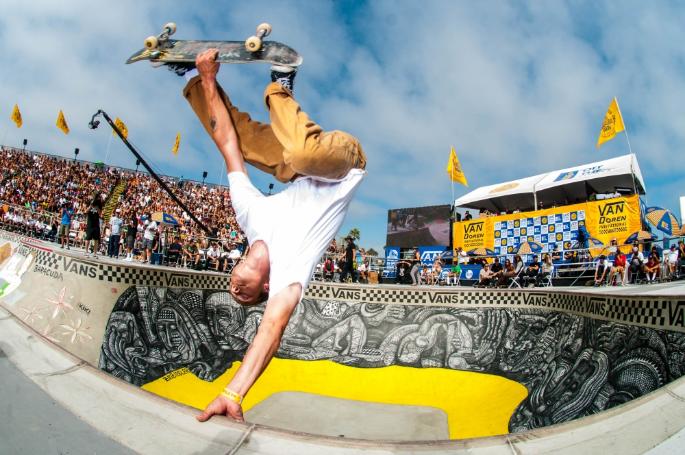 Van Doren Skate Invitational Qualifiers, Raney Berres  (Photo by Brandon Means)