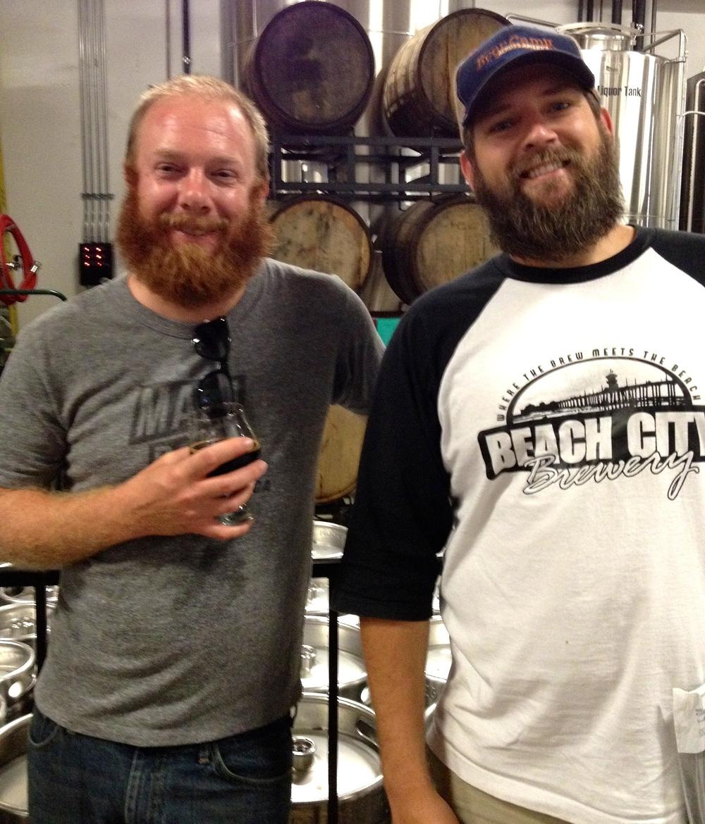 #Beards. From left: M&P contributor  Hudson Wise  and  BCB  Founder Glenn Closson  (Photo by Lauren Lloyd)