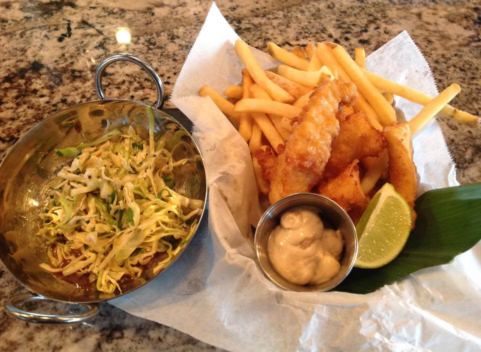 Fish & Chips special (Photo courtesy of Reefs Edge Grill)
