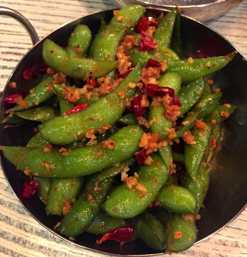 Spicy Edamame (Photo by Lauren Lloyd)