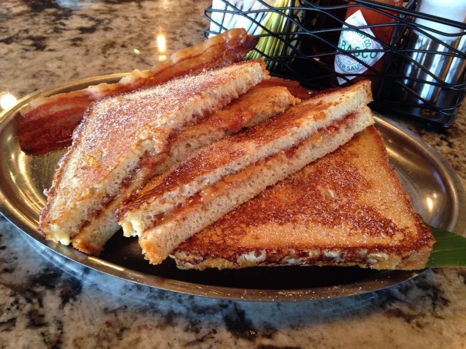 PBJ French Toast  (Photo courtesy of Reefs Edge Grill)