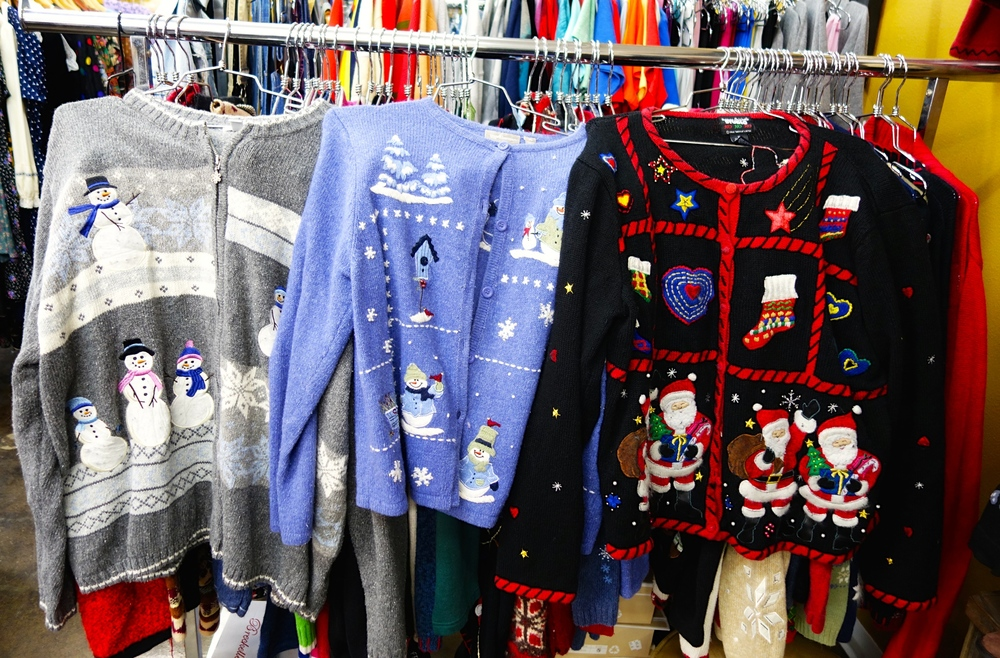 1 Look Vintage's ugly Christmas sweater collection  (Photo by Brad Charlton)