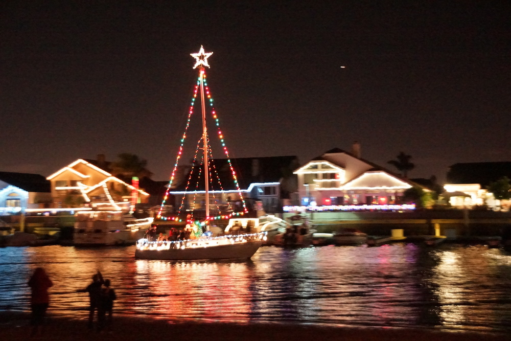 Huntington Harbour Boat Parade 2013 (Photo by Gregory Ori)