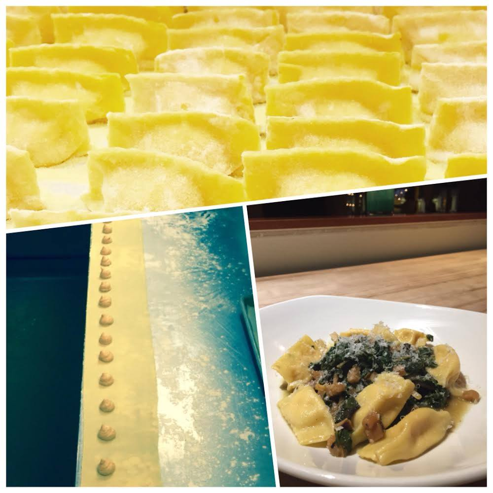 Red Kuri Squash Agnolotti (Photo collage courtesy of Zimzala)
