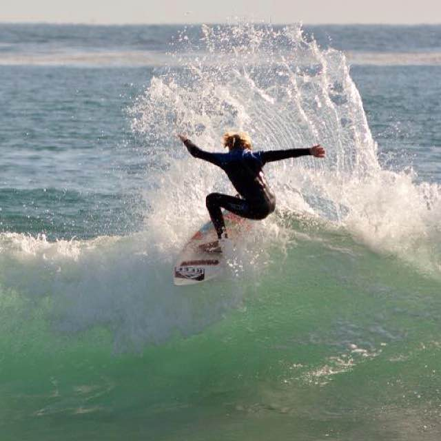 Encinitas local ripper and Carrozza Team Rider Joshua Drake  (Photo courtesy of Carrozza)