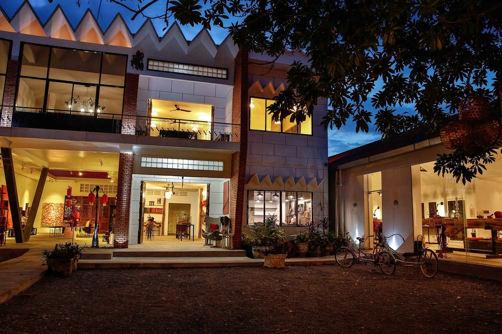 The 1961 Coworking and Art Space in Siem Reap, Cambodia  (Photo courtesy of Senhoa Foundation)