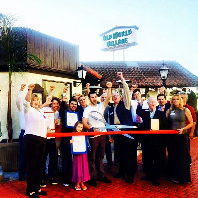Grinderz Costa Mesa ribbon cutting  (Photo courtesy of Grinderz)