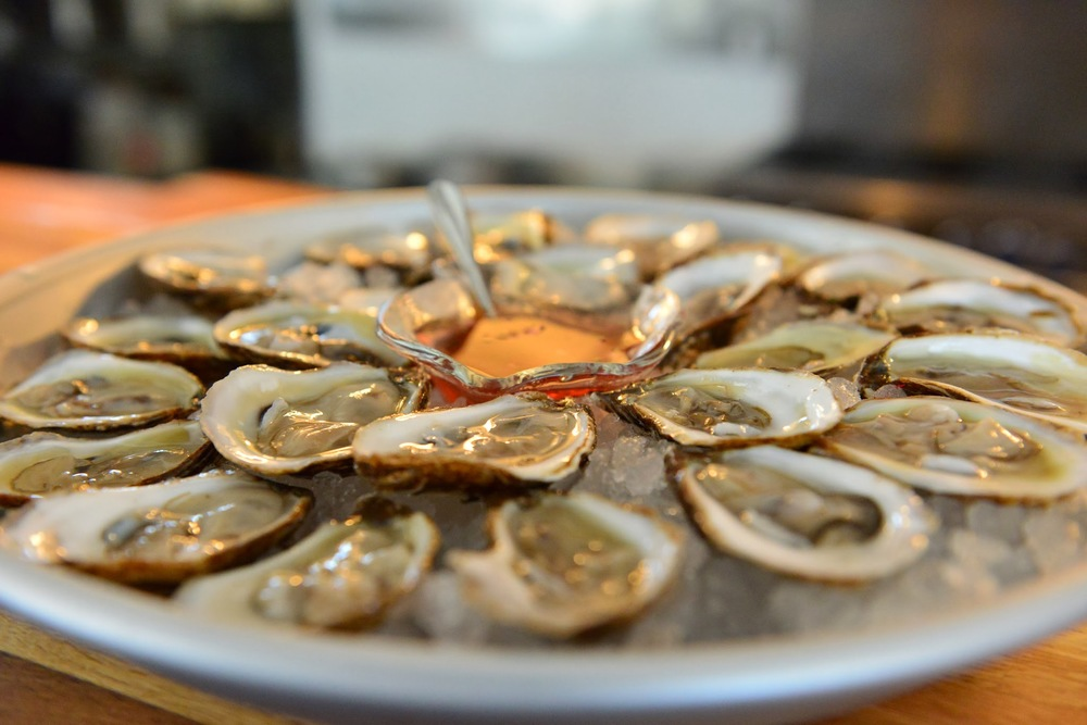 OYSTERS (Photo courtesy of Ways & Means)