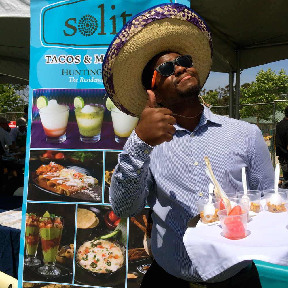 Solita at Taste of Huntington Beach 2015  (Photo by Lisa Martinez)