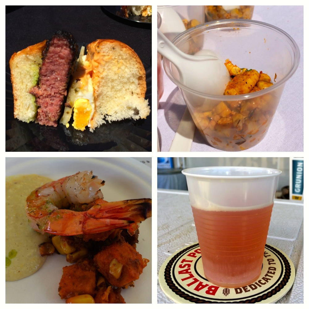 Clockwise from top left: Slater's 50/50, Solita, Ballast Point, Sandy's (Photos by Lisa Martinez)