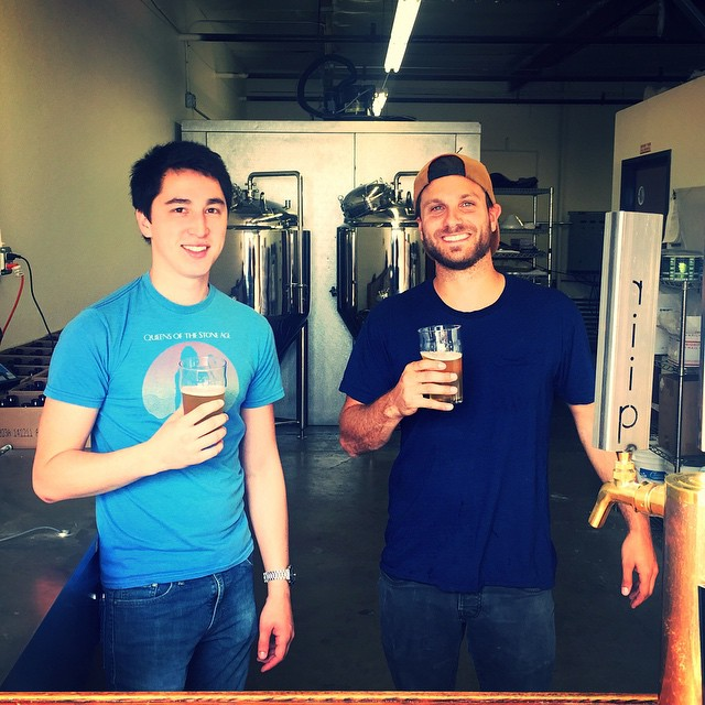 From left: Riip Beer Company's Andrew Moy and Ryan Hopkins  (Photo courtesy of Riip Beer Company)