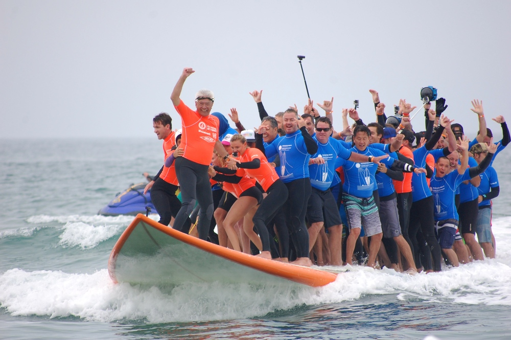 The winning Epic Big Board Ride.  (Photo by Lauren Lloyd)