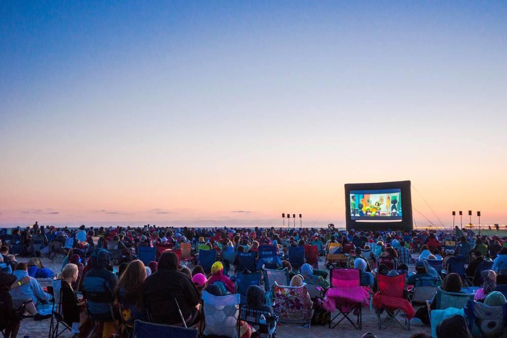 (Photo courtesy of Beachfront Cinema)