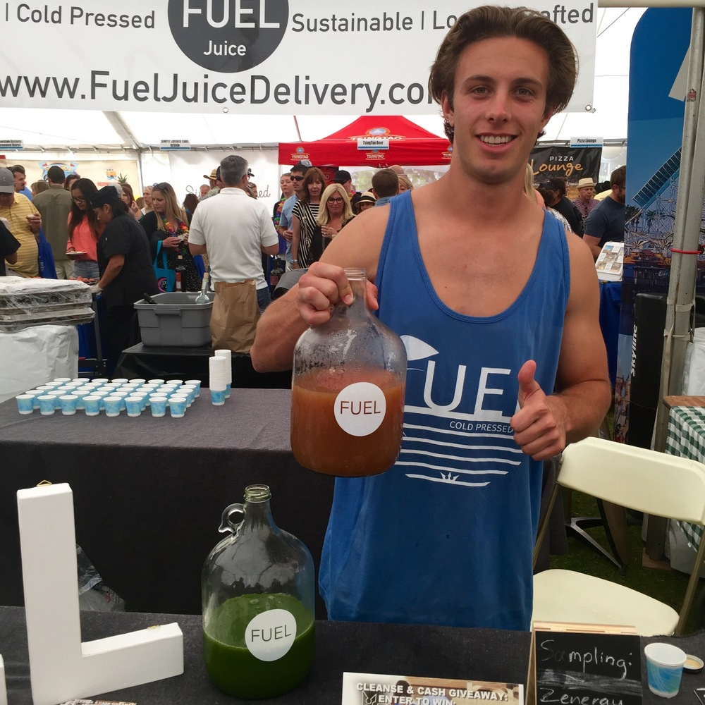 Fuel Juice  (Photo by Lauren Lloyd)