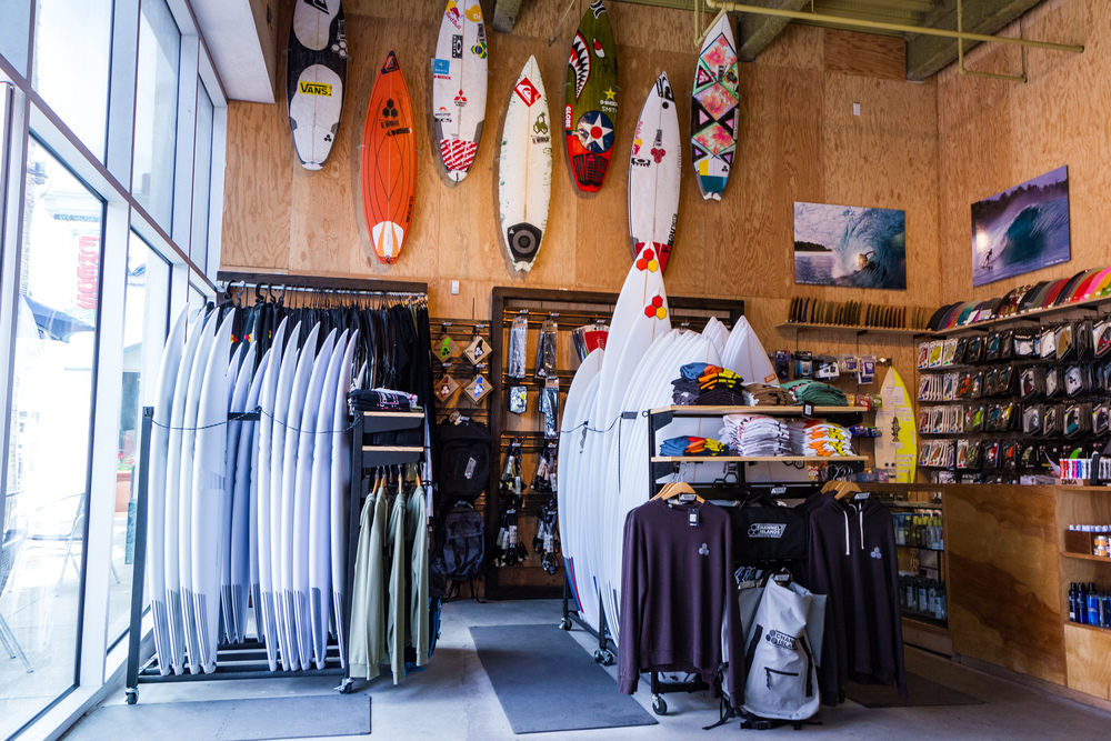 Channel Islands Surfboards Showroom (Courtesy of HSS)