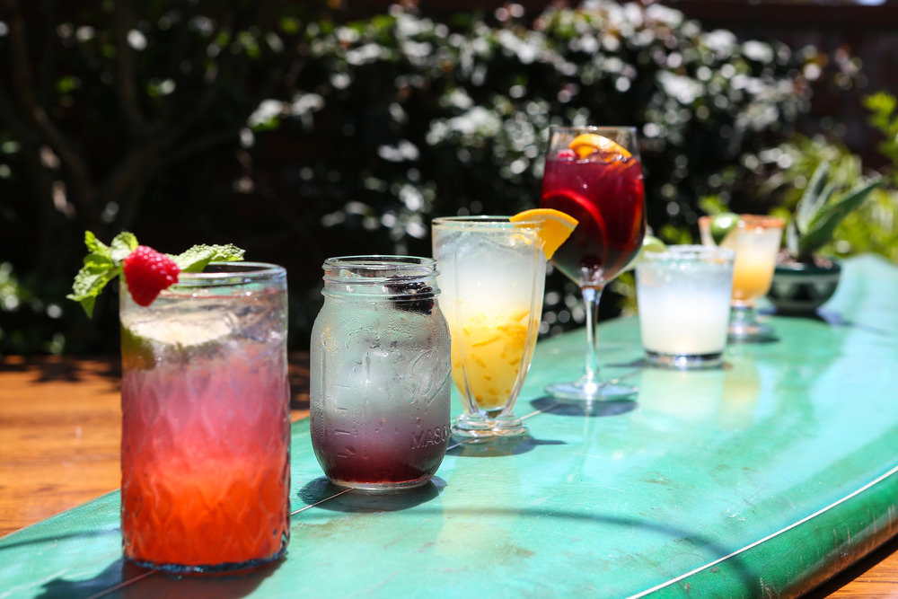 The Bungalow cocktails lineup  (Courtesy The Bungalow)