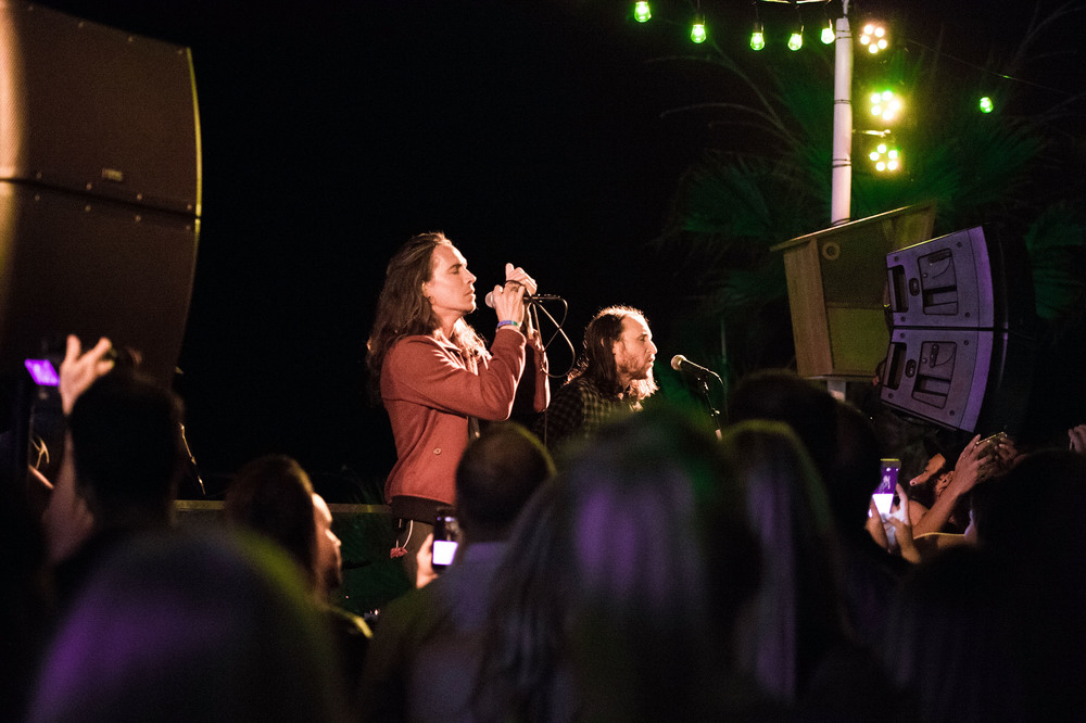 Brandon Boyd and Mike Einziger of Incubus  (Matt Winkelmeyer/Getty Images for Bolthouse Productions)