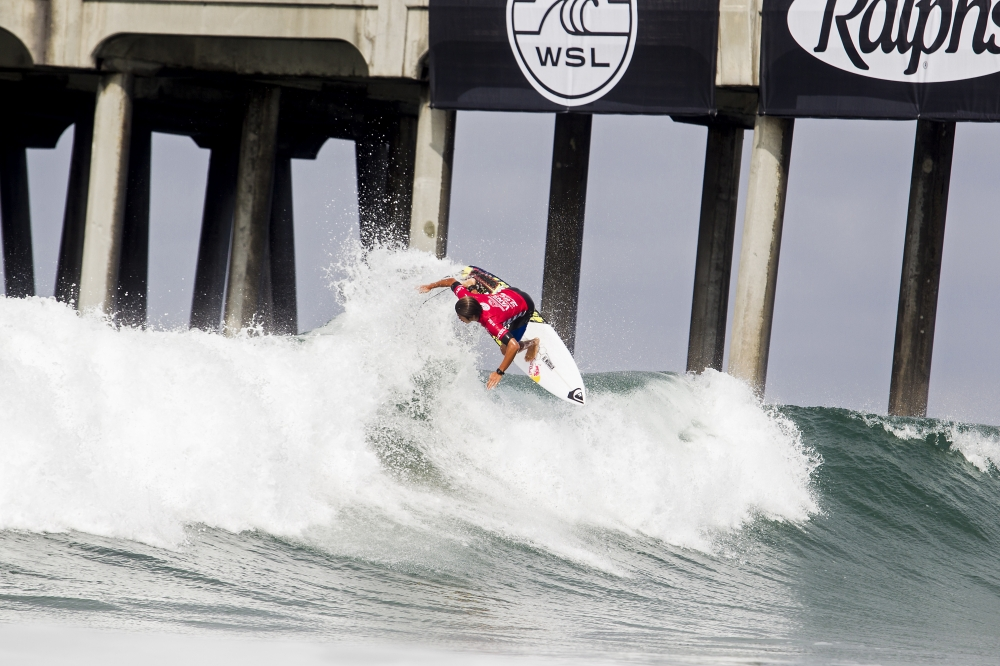 Kanoa Igarashi at the Vans US Open of Surfing  (© WSL / Rowland)